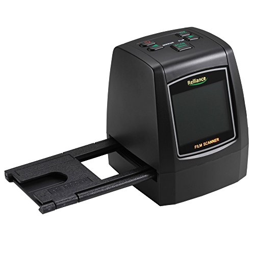 All-in-One Hochauflösungs Film Scanner, elecfan 14.0 Megapixel Negativfilm Dia Zuschauer Scanner USB Digital Farben Fotokopierer, mit 16G SD-Karte