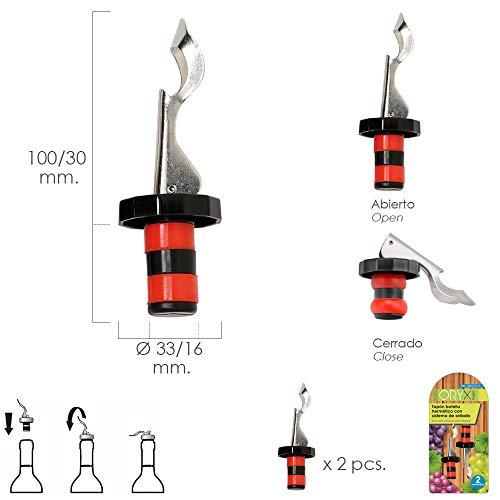 Oryx 5057015 Wasserflaschenverschluss mit Dichtungssystem, 2Stück