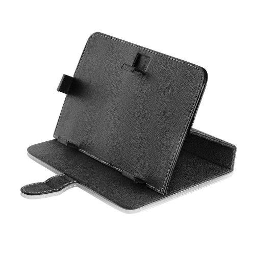 Bookstyle Tablet PC Tasche Etui Hülle Book Case schwarz mit Standfunktion 10.1 Zoll für JAY-tech PA1010DA