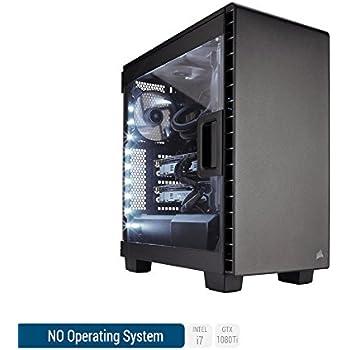 Sedatech Ultimate Gaming PC Intel i7-8700K 6x 3.70Ghz (max 4.7Ghz), Geforce GTX 1080Ti 11Gb, 64 Gb RAM DDR4 3000Mhz, 1 Tb SSD, 3 Tb HDD, USB 3.1, HDMI2.0, 4K resolution, DirectX 12, VR Ready, 80+ PSU. Desktop Computer without OS