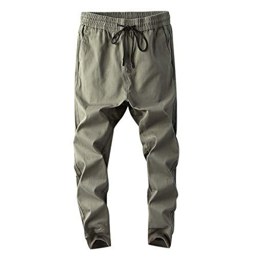 Malloom-Bekleidung Herren Turnhose Baggy Jogginghose Herren Scottish Pants Herren Wanderhose Cabrio Herren K1 Pants Trainingshose Herren Fußball Weite Hose - Jeans Cabrio