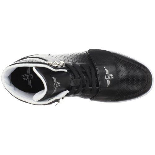 Creative Recreation Les Cesario Hautes Classiques, Baskets mode homme Noir (Black)