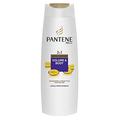 Pantene Pro-V 2in1 Volume & Body Shampoo & Conditioner (400ml) - Paquet de 6