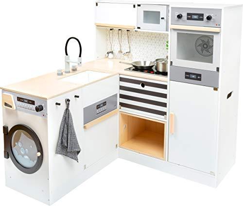 """small foot 11464 Kinderküche \""""Modular XL\"""" aus Holz, Multifunktionsküche mit vielen Umbaumöglichkeiten, ab 3 Jahren"""