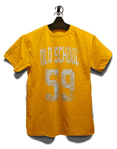Oldschool 1959 T-Shirt Gelb