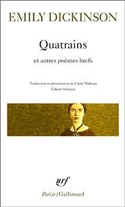 """Afficher """"Quatrains"""""""