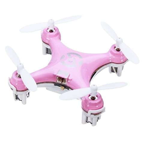 Gyro Drone Quadcopter - CX CX-10 LED RC Gyro Drone Quadcopter UFO 2.4G 4CH 6 Axis RTF GiftMode:Mode 1(Right Hand Throttle) Color:Pink