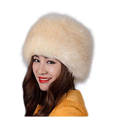 auen Faux-Pelz-russische Art-Winter-Hut Mode Ski Caps Hüte (Russische Faux Pelz Hut)