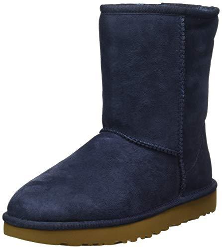 UGG Damen W Classic Short Ii Stiefeletten, Blau (Navy 1016223-NAVY), 38 EU