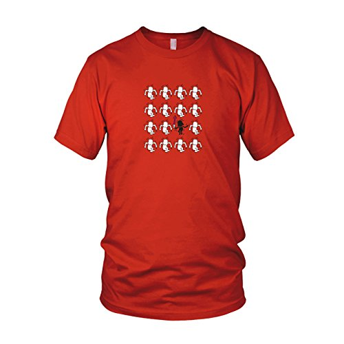 Modern Art Vader - Herren T-Shirt, Größe: XXL, Farbe: rot