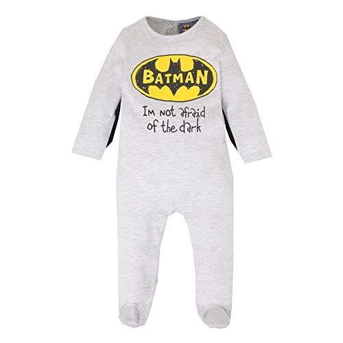 Batman Babies Boys Babyanzug Grau 12M
