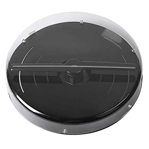65 cm 3D Hologramm Projektor Schutzhülle, Acryl PC Material 99,8% Hohe Transparenz für Hologramm Werbung Led Fan Schutz