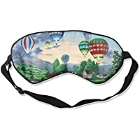 Sleep Eye Mask Balloon Town Lightweight Soft Blindfold Adjustable Head Strap Eyeshade Travel Eyepatch E9 preisvergleich bei billige-tabletten.eu
