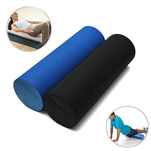 Bluelover 45 X 14.5 cm Eva Yoga Pilates Schaum Roller Home Gym Massage Band - Schwarz