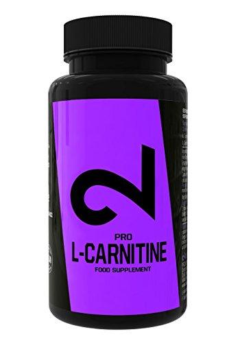 DUAL Pro L- CARNITINE  Qualité Premium: laboratoire certifié   500 mg de L-Carnitine par capsule   Augmente Puissance, Focus et Efficacité   Supplement alimentaire sportif pour minceur  100 super capsules   Végétaliens, sans Gluten et Lactose