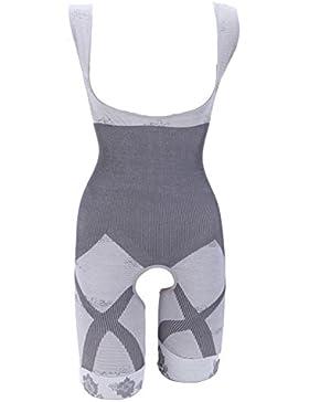 MISS MOLY Body Reductor Mujer Leve Modeladora Faja Reductora Adelgazantes Bodysuit de Cintura Shapewear con Pierna...