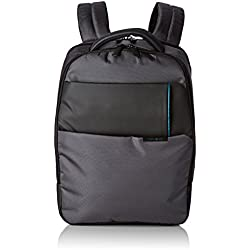 "Samsonite Qibyte Laptop Backpack 15.6"" Mochila Tipo Casual, 21.5 Litros, Color Antracita"