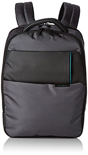 "Samsonite Qibyte Laptop Backpack 17.3"" Mochila Tipo Casual, 24.5 litros, Color Antracita"