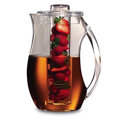 Grunwerg FI-200 Frucht Infusion Krug, Acryl, Farblos, 27.5 x 15.5 x 15.5 cm Glas Infusion Gläser