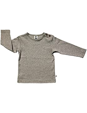 Baby Kinder Langarmshirt Bio-Baumwolle GOTS 13 Farben T-Shirt Shirt Jungen Mädchen Gr. 50/56 bis 140