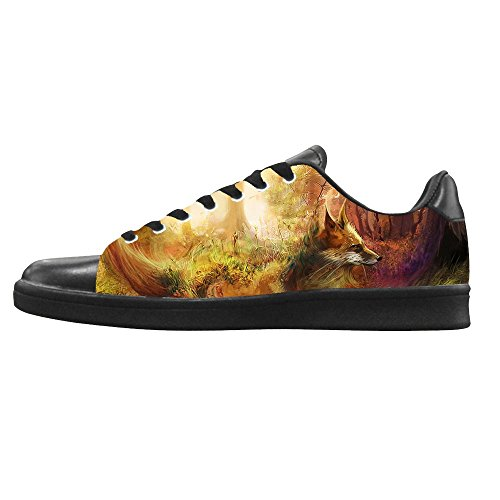 Dalliy Fox Men's Canvas Shoes Lace-up High-top Footwear Sneakers Chaussures de toile Baskets A