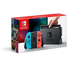 Nintendo Switch - Consola color Azul Neón/Rojo Neón