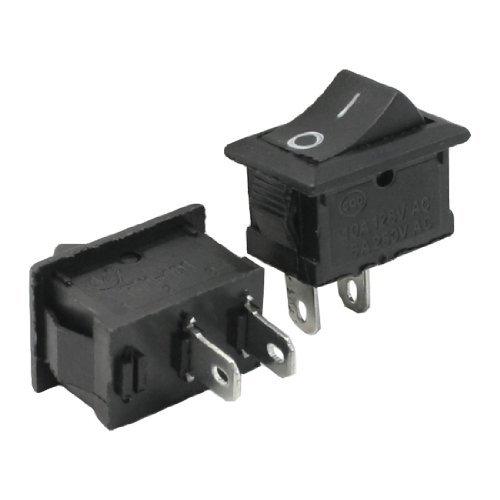 DealMux 2 x Plunge Router AC 250V / 6A 125V / 10A einpolige Ein- / Aus-Schalter -