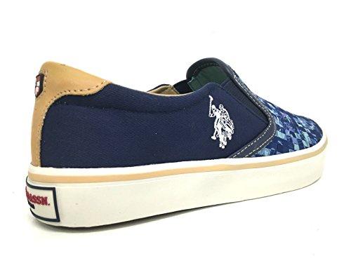 US Polo ASSN. - Chaussures - Hommes Sneakers sans lacets chaussures de sport - GALAD4149S6-TY1 Bleu foncé