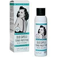 APIARIUM - Olio secco con Argan e Calendula - Dona luminosità e protegge i capelli dallo stress ambientale e dal calore di phon e piastre - Non unge né appesantisce - 100 ml