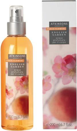 Atkinsons English Garden Peach eau corps parfumée 200 ml vaporisateur