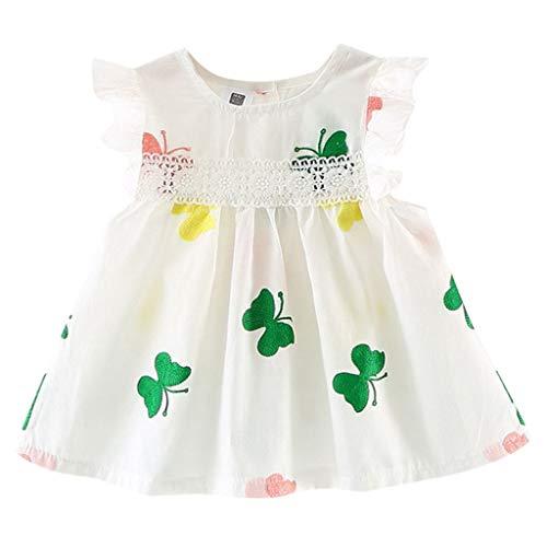 drey 1950er Vintage Hepburn Kleid Prinzessin Ballett Tutu Rock Party,Kleinkind scherzt Baby-Kleidungs-Schmetterlings-Stickerei-Spitze-Partei-Prinzessin Dress ()