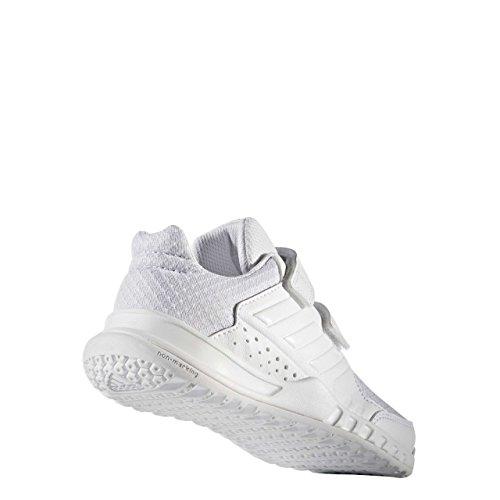 adidas  Fortagym Cf K, chaussure de sport Unisexe - enfant Bianco ( Ftwbla/Ftwbla/Gritra)