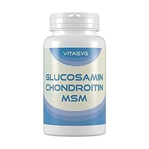 Vitasyg Glucosamin Chondroitin MSM - 300 Tabletten, 1er Pack (1 x 225 g)