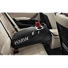 BMW auténtica compartimiento trasero Asiento Trasero bolsa de almacenamiento bolsillos negro 52212303027