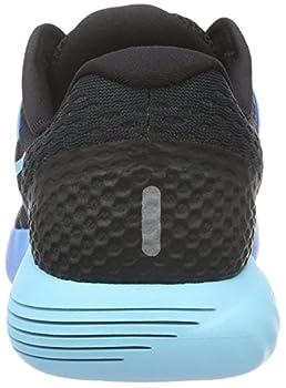 Nike Lunarglide 8, Women's Competition Running Shoes, Black (Blackmlt-clear-deep Royal Blue-photo Blue), 4 Uk (37.5 Eu) 1