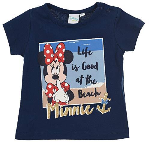 Minnie Mouse Baby - Mädchen Kurze Ärmel T Shirt