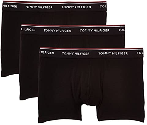 Tommy Hilfiger Herren Shorts 3P TRUNK 1U87903842, Gr. XX-Large, Schwarz (Black 990)
