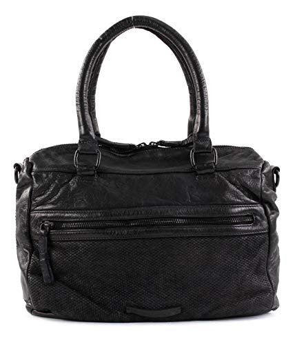 FREDsBRUDER Diskus Handtasche Leder 32 cm