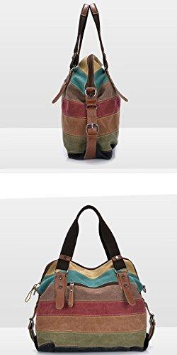 Yan Show, Borsa a tracolla donna multicolore multicolor liguang-danjian-42-cai multicolor