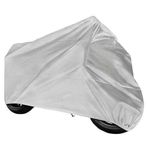 Funda para Moto, Cubierta de Moto Impermeable,Doble Poliéster Respirable,...