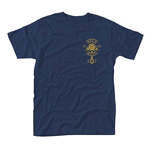 Plastic Head Neck Deep Sink Or Swim Tsfb, T-Shirt Uomo, Blu, Small