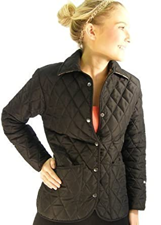 Campbell Cooper Ladies Fitted Quilt Newmarket Riding Jacket ... : quilted ladies jacket - Adamdwight.com