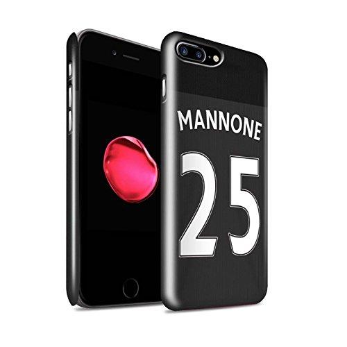 Offiziell Sunderland AFC Hülle / Glanz Snap-On Case für Apple iPhone 7 Plus / Kirchhoff Muster / SAFC Trikot Away 15/16 Kollektion Mannone