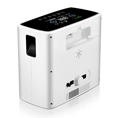 LIQICAI 230V Mobiler Sauerstoffkonzentrator Sauerstoff Generator Tragbar 90{6e99b3fd4e0d06e53fae3a5e1cb8d37b69cd9b953efdd2a9f29b903f49e4f062} 24 Stunden Arbeit Zerstäubungsmaschine (Farbe : 1L+Atomization)
