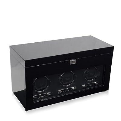 Savoy Triple Watch Winder Colour: Black