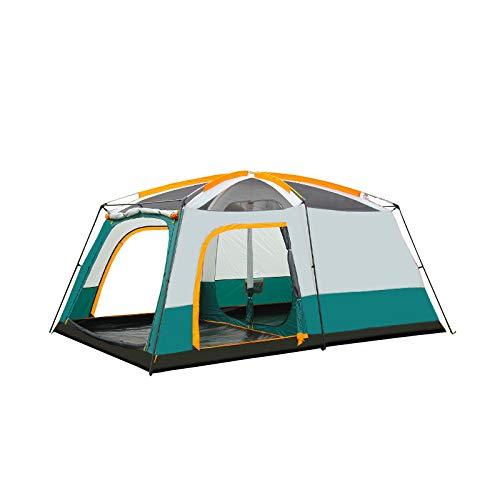 CBWZDJZDS Outdoor Großen Raum Faltzelt EIN Zimmer EIN Halle Zelt Doppelte Wasserdichte Camping Zelt Farbabstimmung 5-8 Personen 430X305X200Cm -