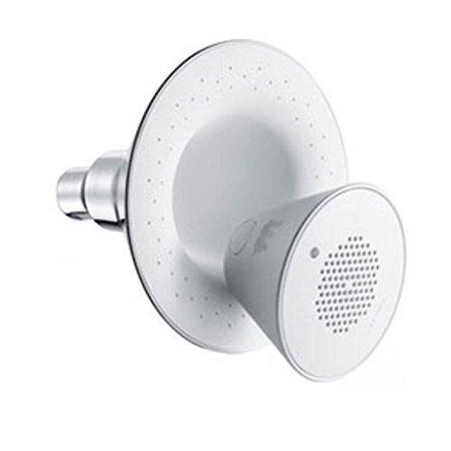 Musik Top-Spray ABS-Harz Runde Musik-Dusche Bluetooth-Verbindung Wireless-Spiel 12,7 cm Panel Wasser Heizung Bad Dusche Badezimmer Zubehör -