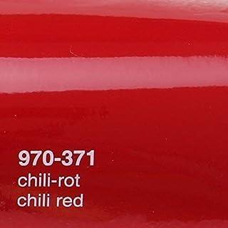 Oracal 970RA 371 Chilli Rot Glanz gegossene Profi Autofolie 152cm breit BLASENFREI mit Luftkanäle