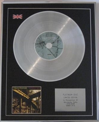 DREAM THEATER CD Platinum Disc-SYSTEMATIC CHAOS