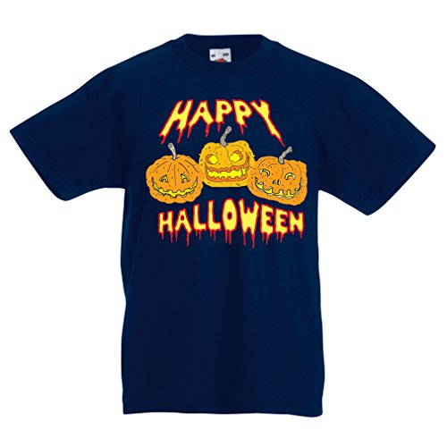Halloween! Party Outfits & Costume - Gift Idea (12-13 years Dunkelblau Mehrfarben) (Happy Halloween-angebote Für Kinder)